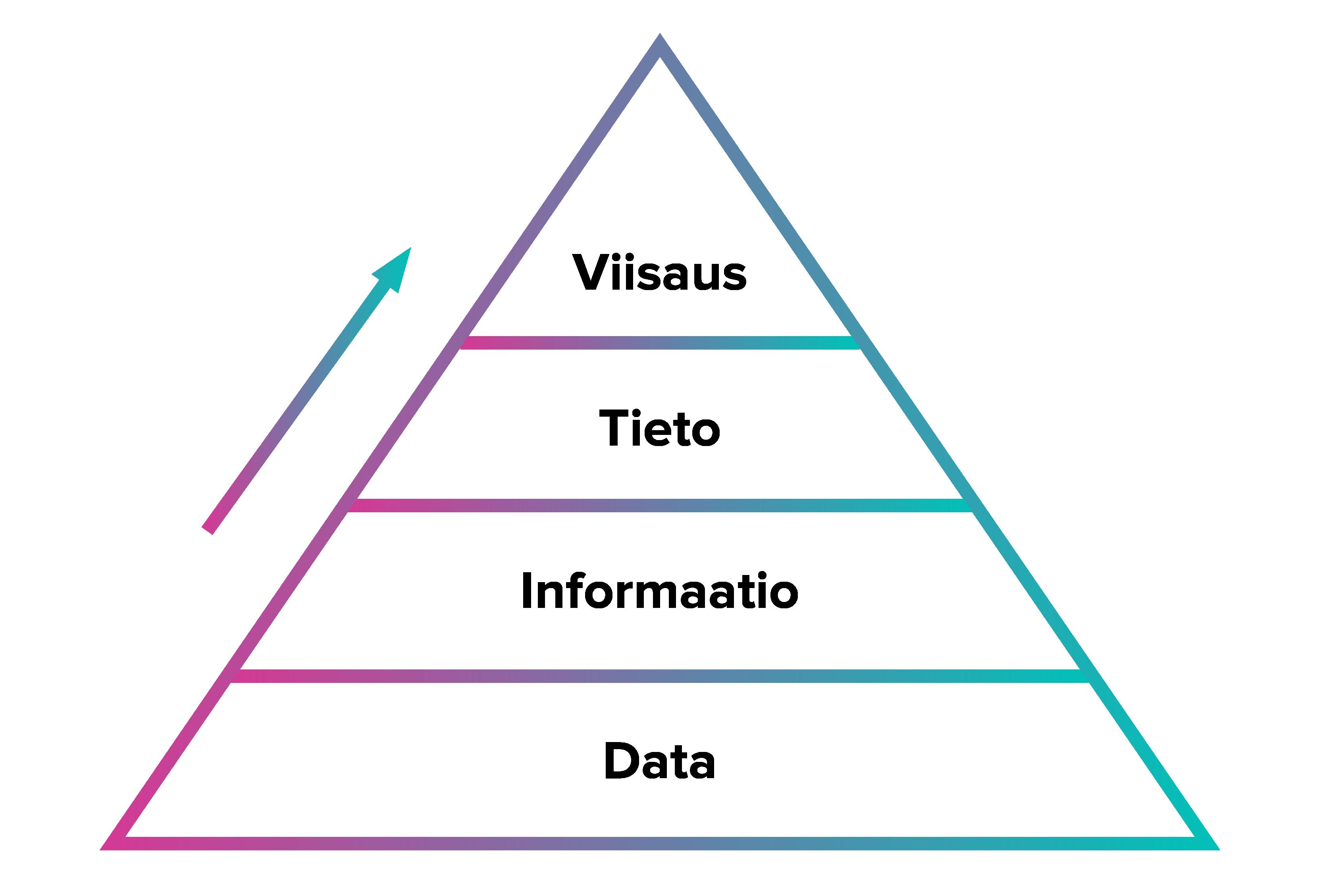 DIKW-hierarkiakuva